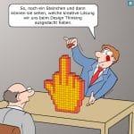 Design Thinking Cartoon