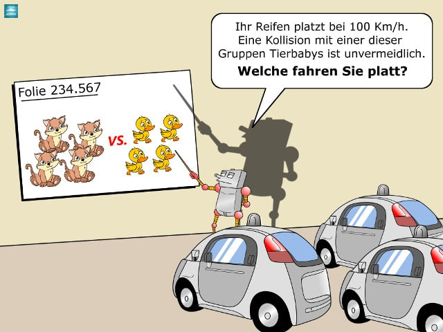 autonomes_fahren_ethik Cartoon