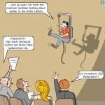 Elevator Pitch Cartoon