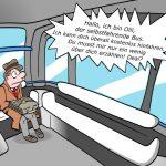 Olli Bus IBM Watson Cartoon