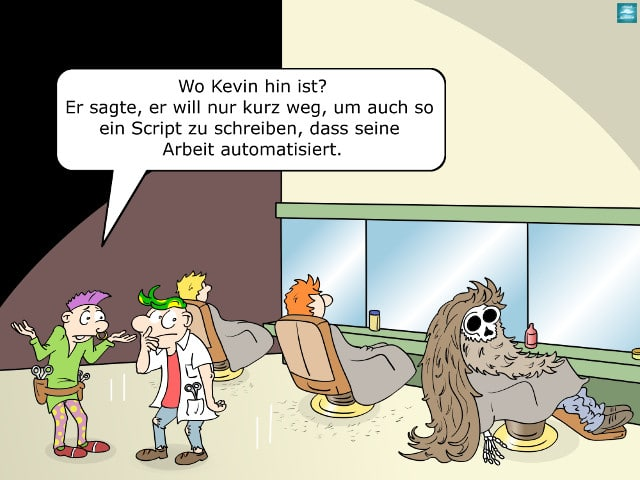 Arbeit Script Automatisieren
