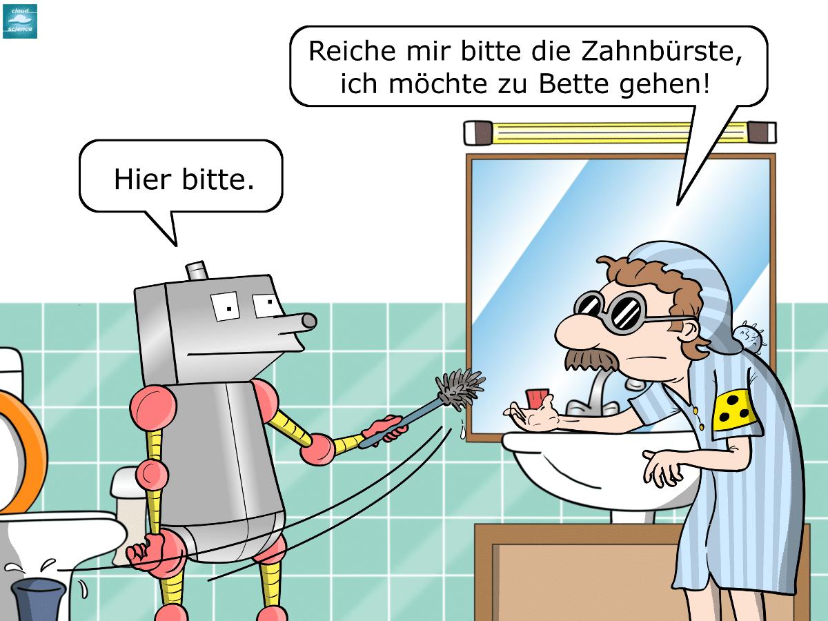 Baxter Blindenroboter