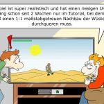 Komplexe Videospielwelten Videospiel Komplexität Cartoon