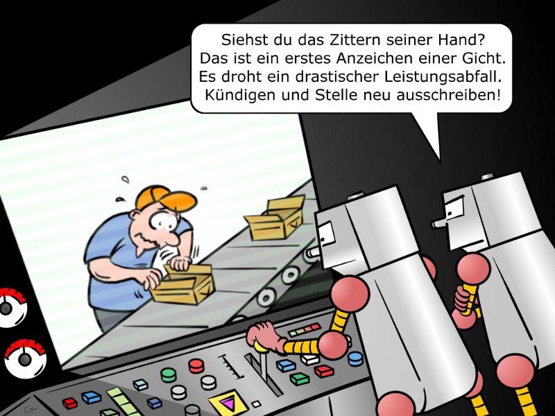 Predictive Maintenance Cartoon