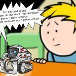 Smartes Intelligentes Spielzeug Digitalisierung Cozmo Spielzeugroboter Cartoon Karikatur