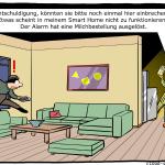 Smart Home Cartoon