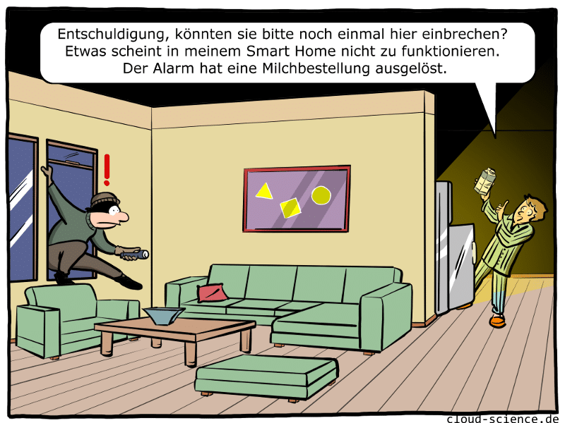 Smart Home Cartoon