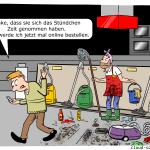 Beratungsklau Cartoon