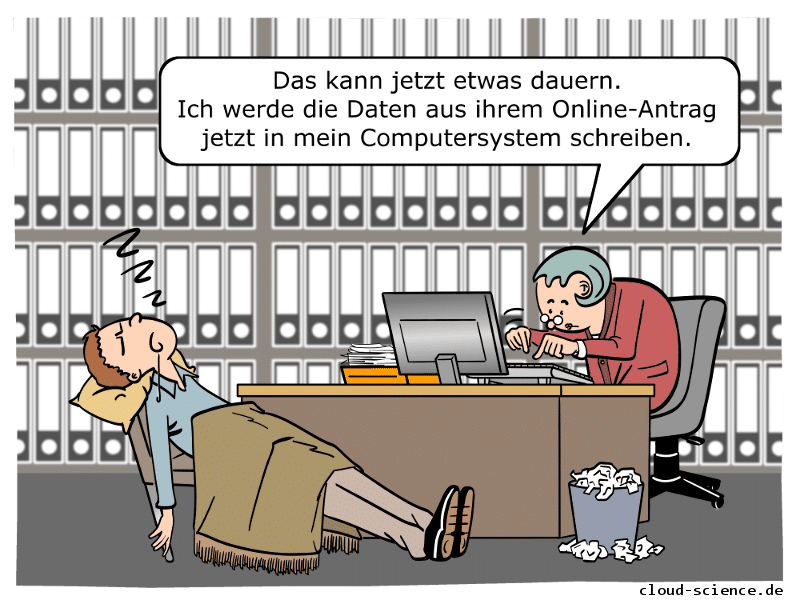 eGovernment Cartoon