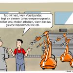 Lohntransparenzgesetz in der Industrie 4.0