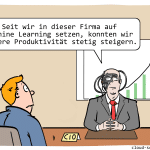 Machine Learning Cartoon