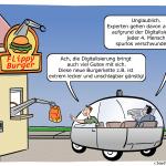 Flippy Roboter Digitalisierung