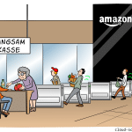 Amazon Go Cartoon
