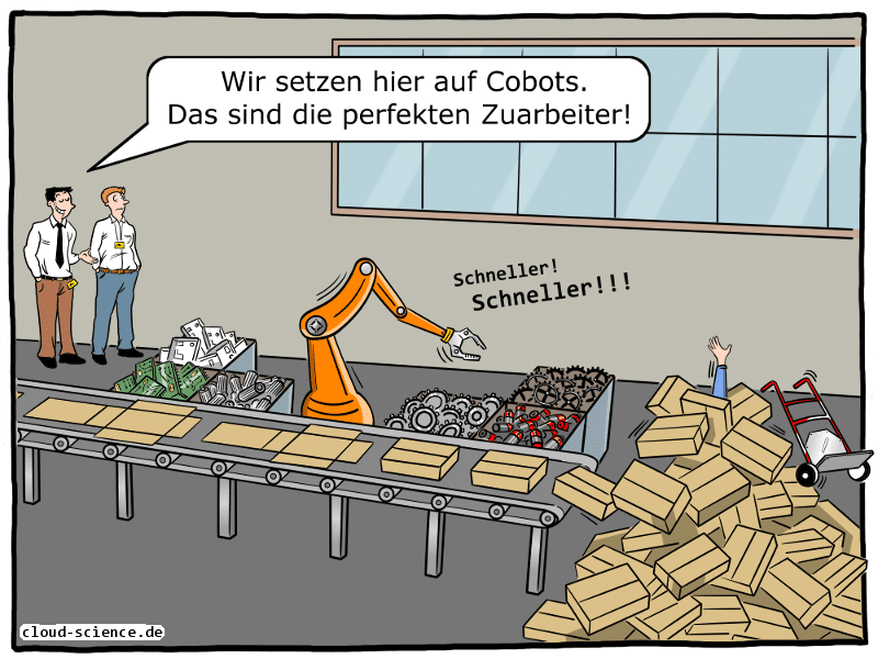 Cobots in der Industrie 4.0