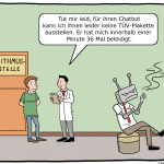 Algorithmus-TÜV-Cartoon