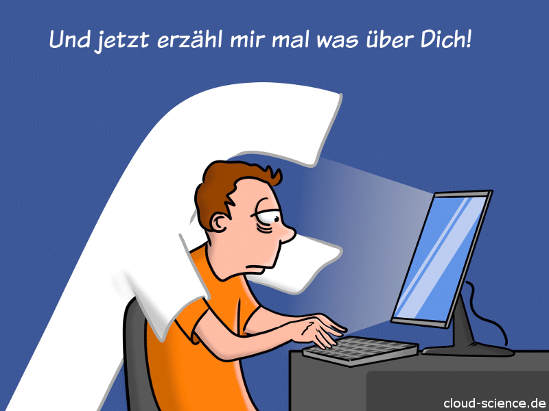 Facebook-Skandal Datenklau Cartoon