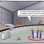 Just-in-time in der intelligenten Fabrik