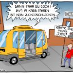 Roboterbus Cartoon