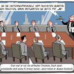 KI Unternehmen Konferenz mit Chatbot