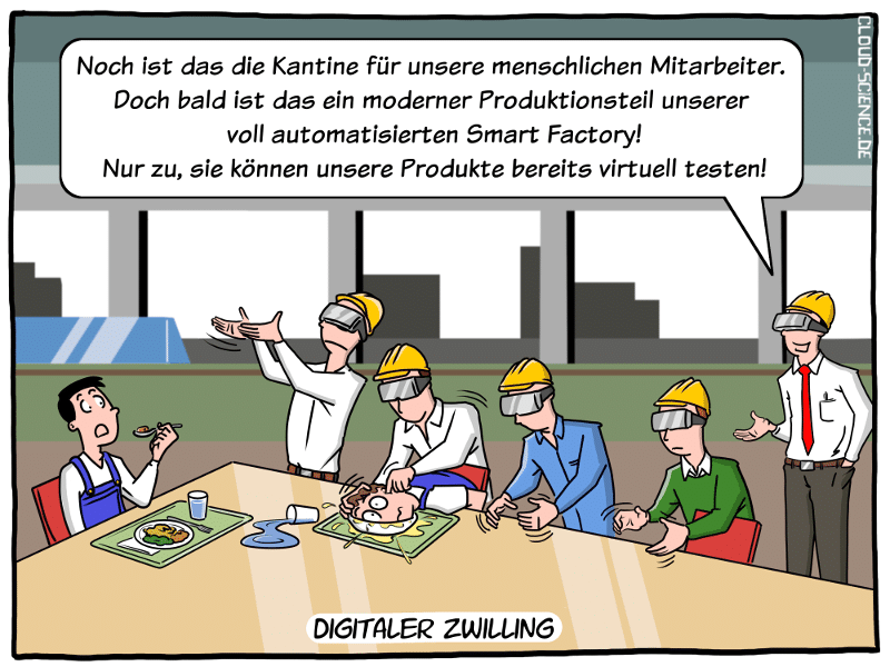 VR-Rundgang Digitaler Zwilling Smart Factory