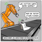 M2M-Kommunikation Roboterarm Roboter Industrie 4.0