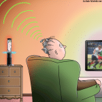Amazon Echo neue Features Wespe Gedankelesen Cartoon