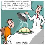 CRISPR/Cas9 Genschere Biohacking Erbgut Cartoon Grafik Illustration