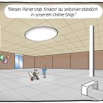 Showroom Omnichannel Cartoon