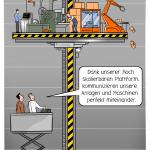 Industrie Plattform Automation Komunikation