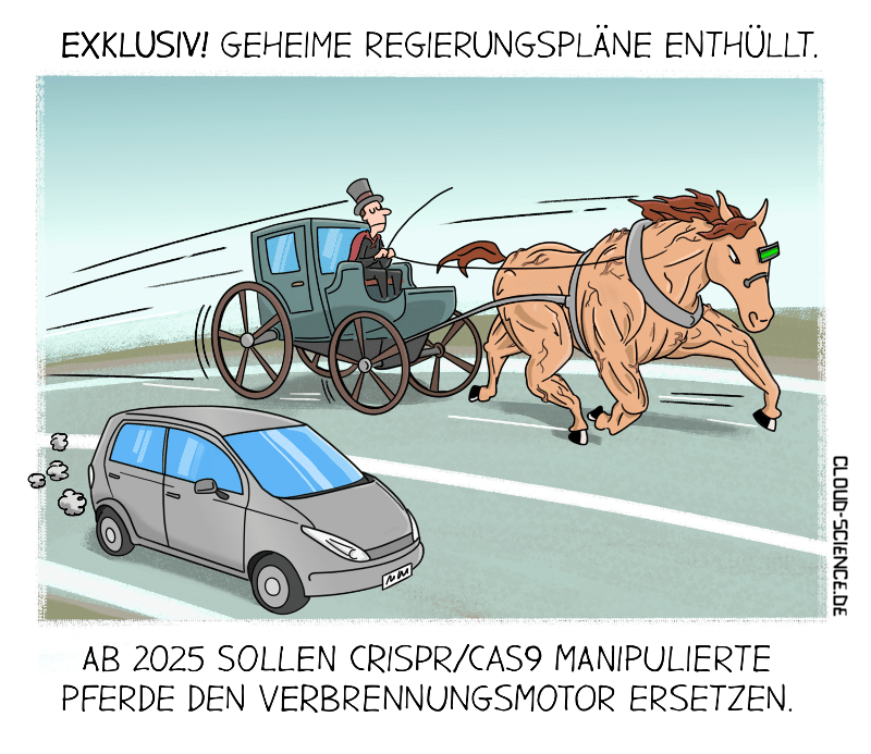 Ende Verbrennungsmotoren 2025 Verkehrswende Klimaschutz Mobilität Cartoon Karikatur