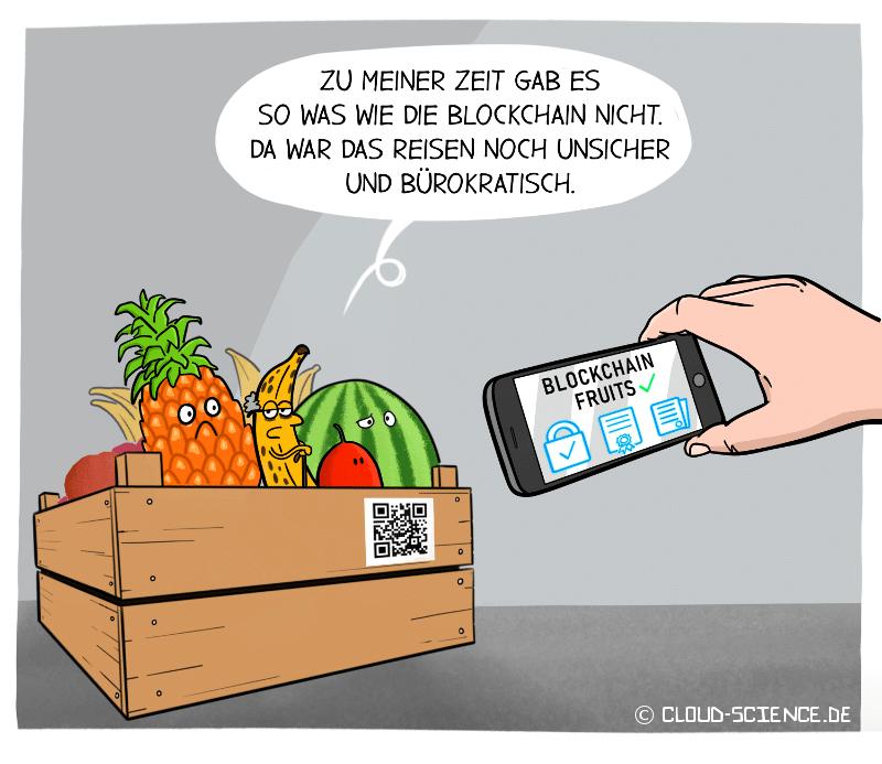 Blockchain Logistik