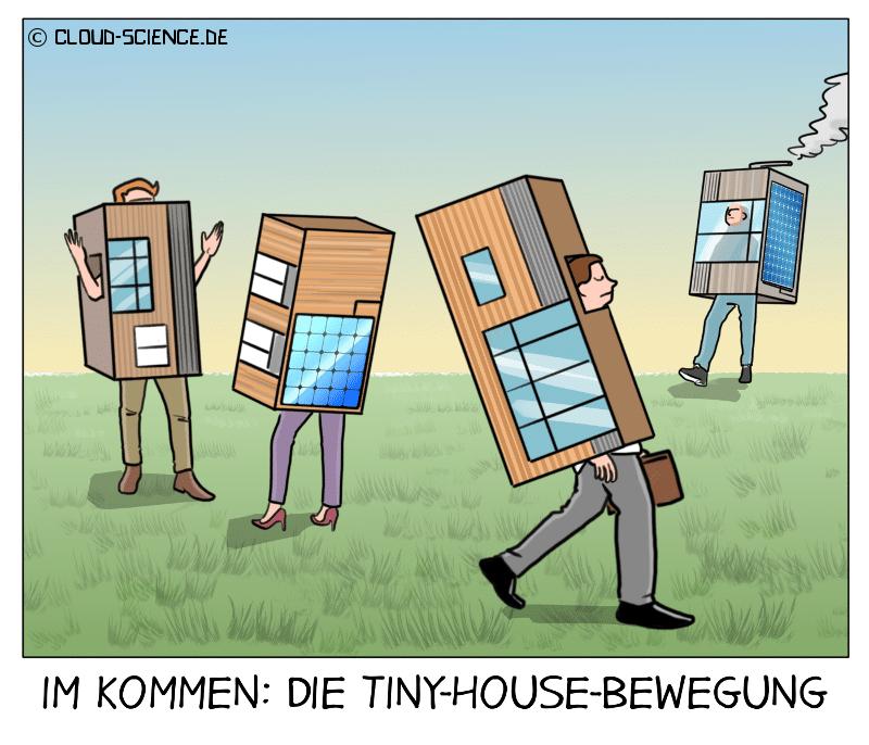 Tiny House Cartoon