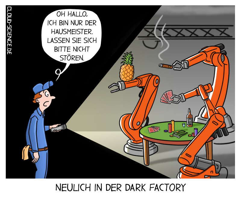 Dark Factory Cartoon